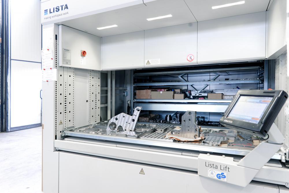 magazzino automatico mb meccanica srl brescia